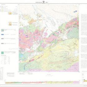 نقشه زمین شناسی اسپکه - سیستان و بلوچستان - دانلود زمین شناسی