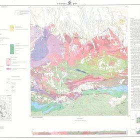 نقشه زمین شناسی فنوج - سیستان و بلوچستان - دانلود نقشه زمین شناسی