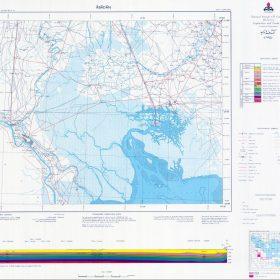 نقشه زمین شناسی آبادان - خوزستان - دانلود نقشه زمین شناسی