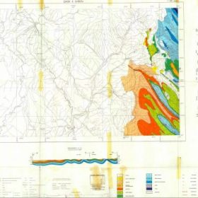 نقشه زمین شناسی قصر شیرین - کرمانشاه - دانلود نقشه زمین شناسی