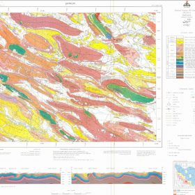 نقشه زمین شناسی جهرم - فارس - دانلود نقشه زمین شناسی