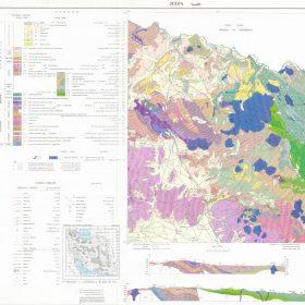 نقشه زمین شناسی جلفا - آذربایجان شرقی - دانلود نقشه زمین شناسی