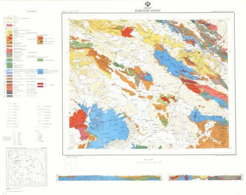 نقشه زمین شناسی کبودر آهنگ - همدان - دانلود نقشه زمین شناسی