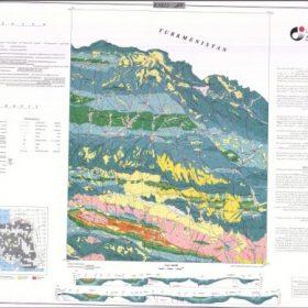 نقشه زمین شناسی کاکلی - خراسان شمالی - دانلود نقشه زمین شناسی