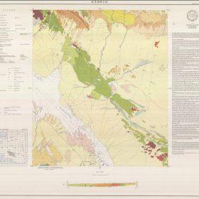 نقشه زمین شناسی کمرود - یزد - دانلود نقشه زمین شناسی