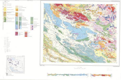 نقشه زمین شناسی کرمانشاه - کرمانشاه - دانلود نقشه زمین شناسی
