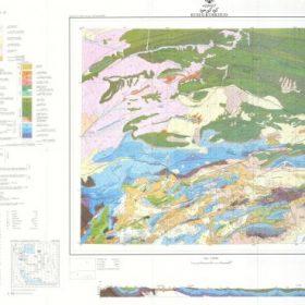 نقشه زمین شناسی کوه کورخود - خراسان شمالی - دانلود نقشه زمین شناسی