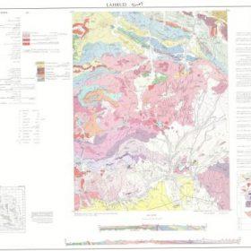 نقشه زمین شناسی لاهرود - اردبیل - دانلود نقشه زمین شناسی