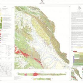 نقشه زمین شناسی میرجاوه - سیستان و بلوچستان - دانلود نقشه زمین شناسی