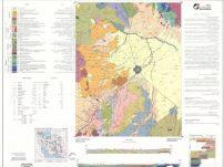 Geology Ardabil - 100000