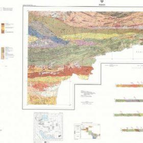 نقشه زمین شناسی پیشین - سیستان و بلوچستان - دانلود نقشه زمین شناسی