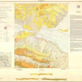 نقشه زمین شناسی سردار - اصفهان - دانلود نقشه زمین شناسی