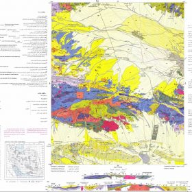 نقشه زمین شناسی ساوه - مرکزی - دانلود نقشه زمین شناسی