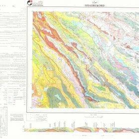 نقشه زمین شناسی شهرکرد - چهارمحال و بختیاری - نقشه زمین شناسی