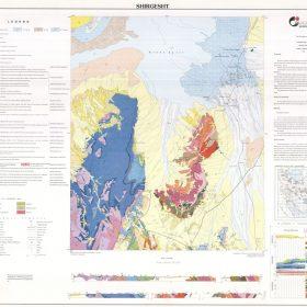 نقشه زمین شناسی شیرگشت - خراسان جنوبی - دانلود نقشه زمین شناسی