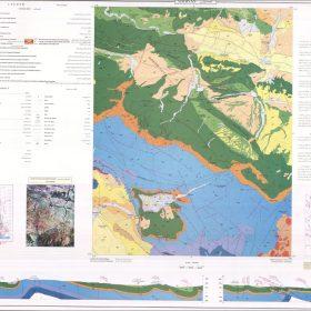 نقشه زمین شناسی شیروان - خراسان شمالی - دانلود نقشه زمین شناسی