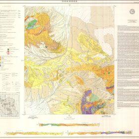 نقشه زمین شناسی سرخ شاد - اصفهان - دانلود نقشه زمین شناسی