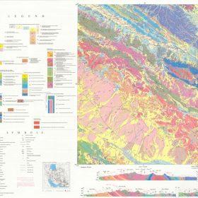 نقشه زمین شناسی سوریان - فارس - دانلود نقشه زمین شناسی