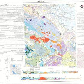 نقشه زمین شناسی تفرش - مرکزی - دانلود نقشه زمین شناسی