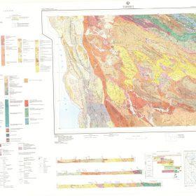 نقشه زمین شناسی طاهرویه - هرمزگان - دانلود نقشه زمین شناسی