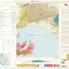 نقشه زمین شناسی تسوج - آذربایجان شرقی - دانلود نقشه زمین شناسی