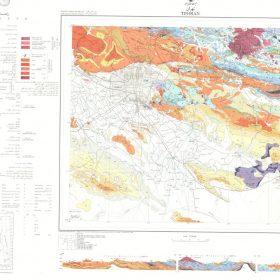 نقشه زمین شناسی تهران - تهران - دانلود نقشه زمین شناسی