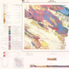 نقشه زمین شناسی تربت جام - خراسان رضوی - دانلود نقشه زمین شناسی