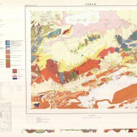 نقشه زمین شناسی طرود - سمنان - دانلود نقشه زمین شناسی