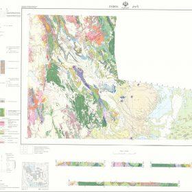 نقشه زمین شناسی زابل - سیستان و بلوچستان - دانلود نقشه زمین شناسی