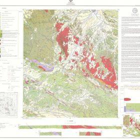 نقشه زمین شناسی زاهدان - سیستان و بلوچستان - دانلود نقشه زمین شناسی