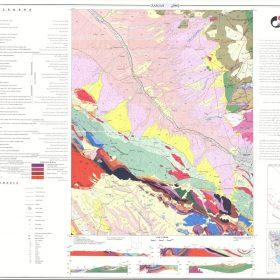 نقشه زمین شناسی زنجان - زنجان - دانلود نقشه زمین شناسی