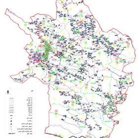 نقشه شهرستان خرم آباد - لرستان - فایل اتوکدی و PDF