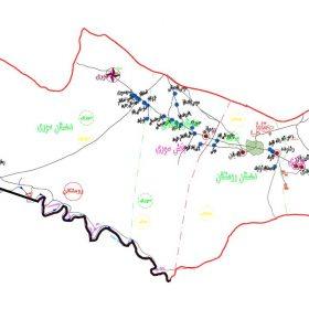 نقشه شهرستان رومشکان - لرستان - فایل اتوکدی و PDF